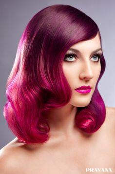 hair & makeup: Sherri Jessee for Pravana photo & post: Julia Kuzmenko
