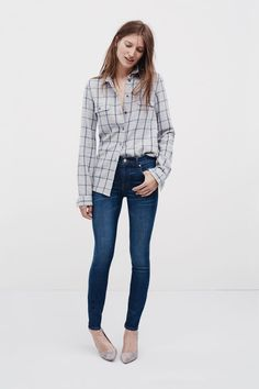Wearing this Madewell outfit every day this fall