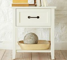 Stratton Bedside Table #potterybarn