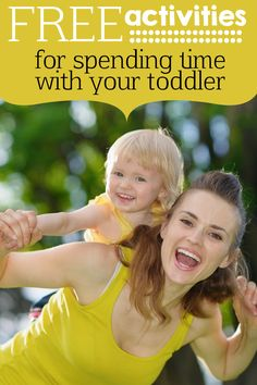 Free Activities for 2 Year Olds