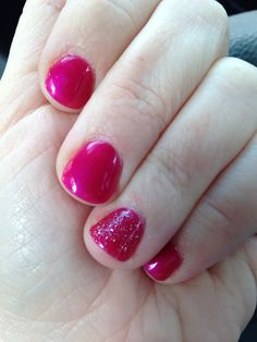 Shellac Nails & pedicure toes on Pinterest | Shellac, Hot Pink Toes a