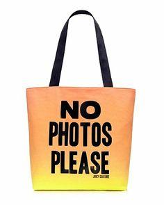 No Photos Please Tote
