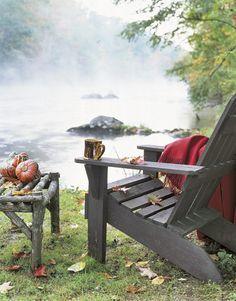 The perfect fall setting.