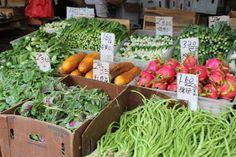 Chinatown: Veggies! Secret to beautiful skin!