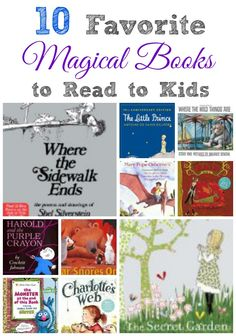 Magical books to read to kids