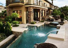 I love swimming pools!