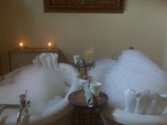 A relaxing aromatherapy bath treatment will help you calm yourself!