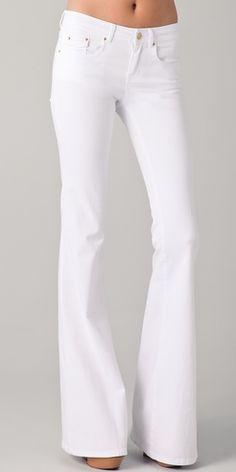 Rachel Zoe White flare jeans