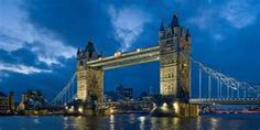 London Bridge.  That children's song just does NOT do it justice when you see its beauty.
