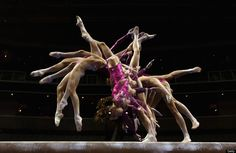 U.S. Gymnasts At 2012 Olympic Trials Captured In Stunning Multiple Exposure Image