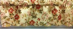 "Farrell Petticoat Valance in Gold. 52"" w x 17""l @ $49.99. To Order Call toll-free 877-722-1100"