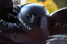 Skully Heads Up Display Helmet
