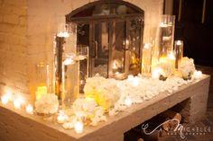 Ohmygosh! Get in my wedding right now! @ParkHyattBeaverCreek #wedding #fireplace #winterwedding #colorado