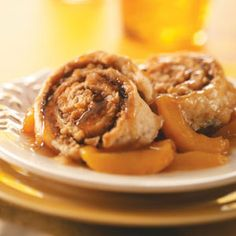 Cinnamon Biscuit Peach Cobbler Recipe from Taste of Home -- shared by Fawna Eastman of Lewistown, Montana
