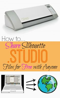 Silhouette School: Share Silhouette Studio Files Easily (Tutorial)