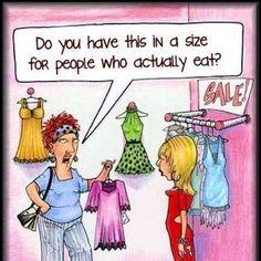 real women shopping