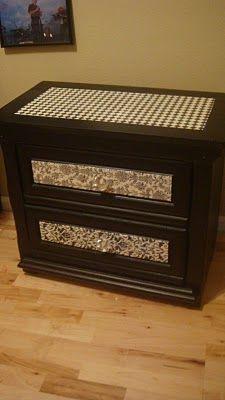 Mod Podge furniture!