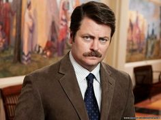 Ron Swanson, Parks and Recreation: he rules