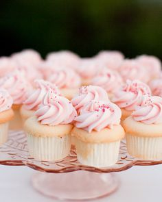 Pink Cupcakes.
