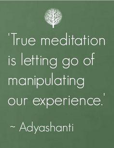 Adyashanti's wisdom #meditation