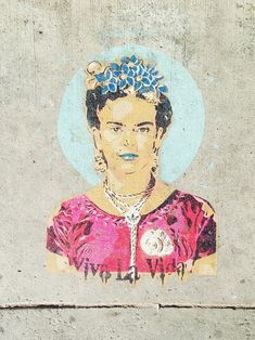 found frida on the sidewalk / sfgirlbybay