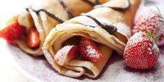 #matildetiramisu #concorso  crepes alle fragole e cioccolato...una delizia per il palato... #dolciricette
