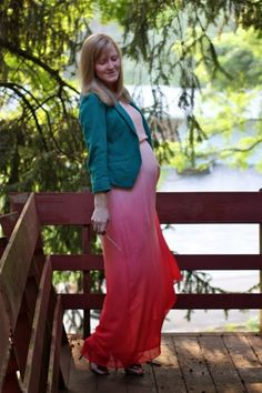 Work it: Workin' the ombre #maternity
