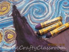 Famous Artist Crafts for Kids-Van Gogh