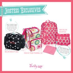 Thirty-One Hostess Exclusives  Summer 2014