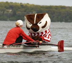 Our favorite coxswain wisconsin, bucki badger, lake mendota, honey badger, boynton badger