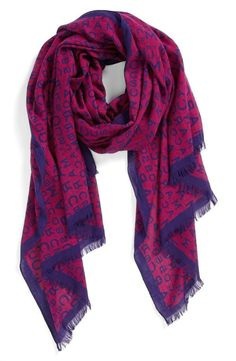 MARC BY MARC JACOBS Logo Scarf