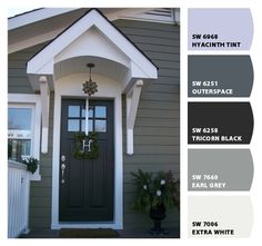 Outerspace - Paint colors from Chip It! by Sherwin-Williams