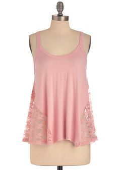 It's Trapeze-y Top in Pink