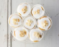 Bakewell cupcakes recipe