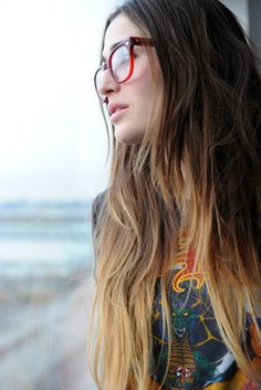 SS ombre hair.