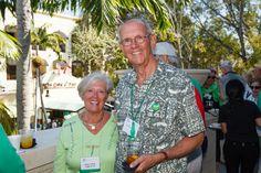 Emmanuel College Alumni St. Patrick's Event   Naples, FL   3.15.14 - Nancy Lafleur LaPierre '63 and Terry LaPierre