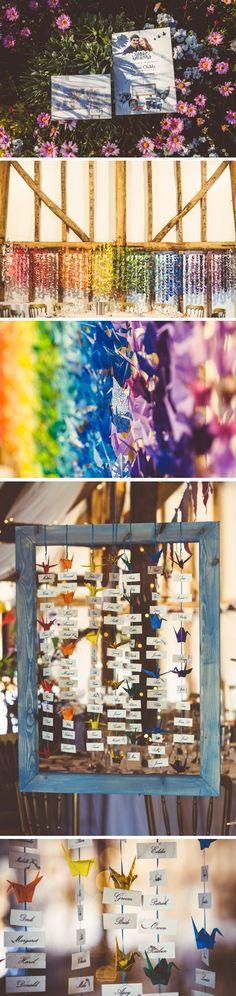 origami festival wedding