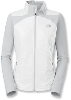 Designed for cross-country ski trails, the North Face Anamagi women's jacket provides lightweight warmth and stretchy side panels. #REIGifts