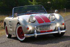 59  red stripes Austin Healey Sprite