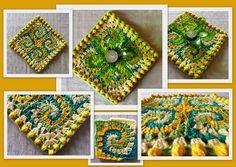 spirals, granni squareshexagon, granni spiral, crochet granni, spiral crochet pattern, doilies, spiral doili, kid, crochet spiral