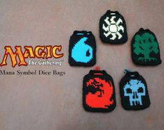 Magic the Gathering Dice Bags