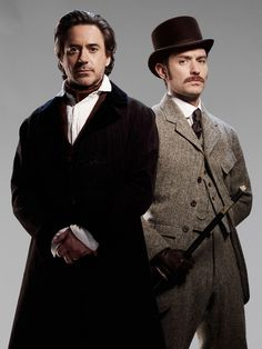 I need more tweed     Robert Downey Jr. & Jude Law #01