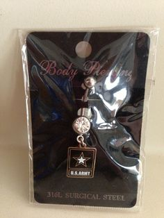 U.S. Army Belly Ring from Enduring Freedom Designs on Storenvy