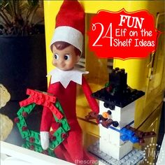 24 FUN Elf on the Sh