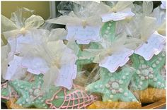 starfish cookies (under the sea party)