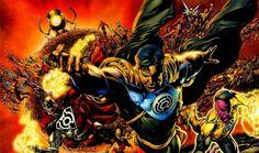 Cyborg Superman, Superboy Prime, Sinestro