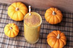 Butternut Squash Chai Smoothie – need plant milk, butternut squash puree, dates, ground flaxseed, spices; Gluten-Free + Vegan