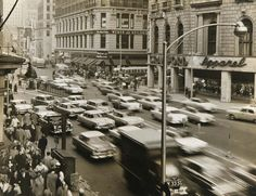 Streets of New York 1950