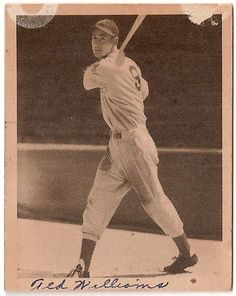 1939 Ted Williams Rookie card