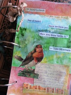 Indulge Your Shelf: A writing inspiration book - art journal with a theme